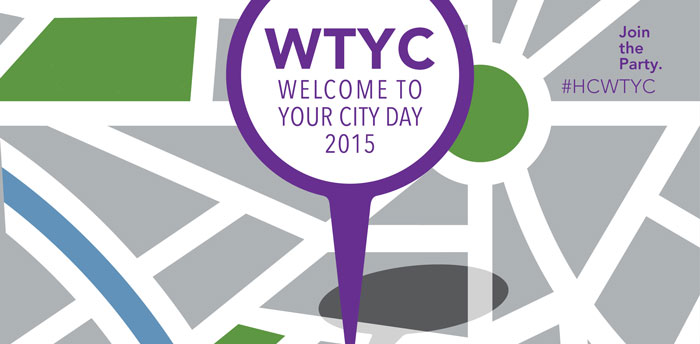 Join the Party! Welcome to Your City Day 2015