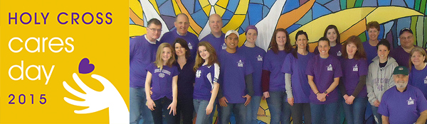"""Holy Cross Alumni Community - Greater Dallas """"Holy Cross Cares Day ..."""