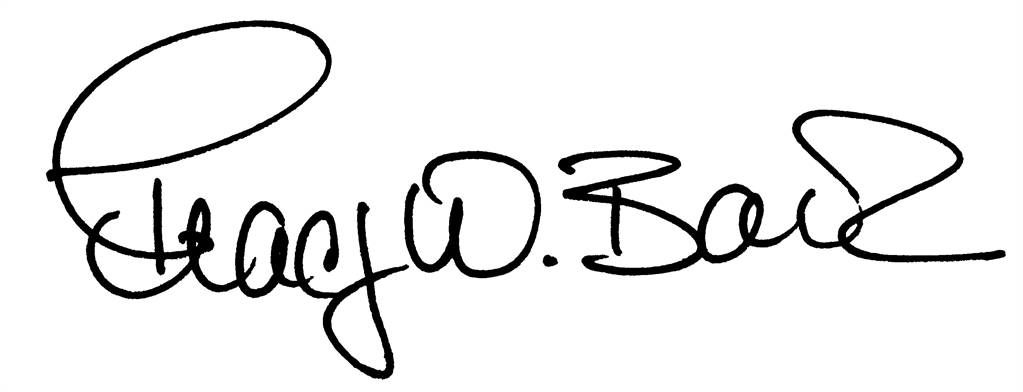 Tracy Barlok signature